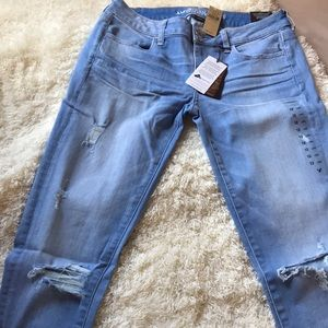 AEO super low jegging size 12 Long